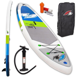 F2 Inflatable SUP-Board F2 Line Up SMO blue, (Set, 3 tlg) 11,5 - 350 cm