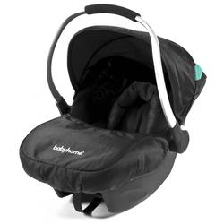 Autositz Babyhome Egg0 + Black2Black