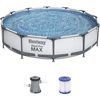 Frame Pool, rund, 366x76cm, inkl. Filterpumpe 1249 l/h