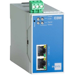Insys Industrie LAN-Router EBW-E 100 1.2