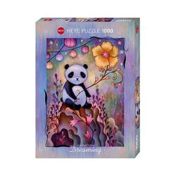 HEYE Puzzle Puzzle Panda Naps, Dreaming, 1.000 Teile, Puzzleteile