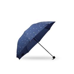 Sonia Originelli Taschenregenschirm Regenschirm Anker maritim blau rot, maritim blau