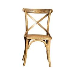 Stuhl aus Ulmenholz und Rattansitz Sambuco - Guarnieri