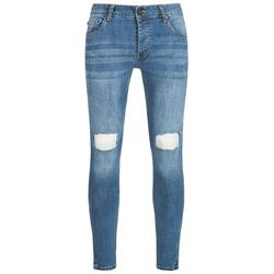 BRAVE SOUL Crofton Stretch Skinny Herren Denim Cut Out Jeans MJN-CROFTON - W30/L32