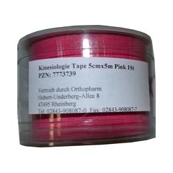 KINESIOLOGIE Tape 5 cmx5 m pink 1 St