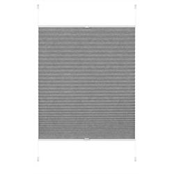 Plissee EASYFIX Plissee Lilly Green grau 100 x 130 cm, GARDINIA, blickdicht