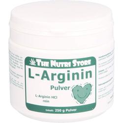 L-ARGININ HCL rein Pulver 250 g