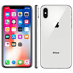 Forza Generalüberholtes Apple iPhone X 64 GB Silber Klasse A