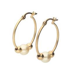 Vivance Paar Creolen Perlen