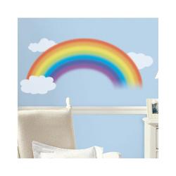 RoomMates Wandsticker Wandsticker Regenbogen mit Wolken, 4-tlg.