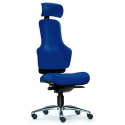 ZERO O1 - High End Bürostuhl Blau Stoff