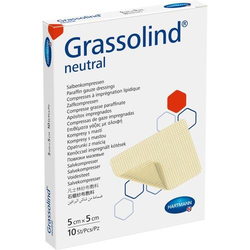 GRASSOLIND Salbenkompressen 5x5 cm steril 10 St