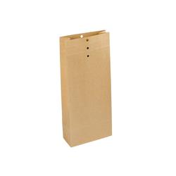 250 Recycling-Musterbeutel 120 x 285 x 50 mm mit Klotzboden 120 g/m²