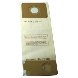 Staubsaugerfilter Papierfilter passend für SEBO BS Kombi