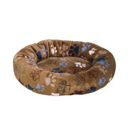 Nobby Tierbett HundeDonut Classic Lissi braun S - 50 cm x 50 cm x 13 cm