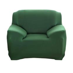 Sofahusse 1-Sitzer Sofabezug elastischer Sofahussen elastischer Sofabezug Sofabezug Sofabezug universeller elastischer Bezug Sesselbezug 90-140CM, kueatily grün