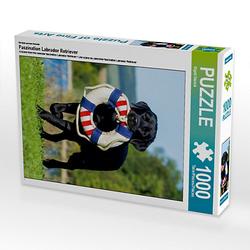 Faszination Labrador Retriever Lege-Größe 48 x 64 cm Foto-Puzzle Bild von SiSta-Tierfoto Puzzle