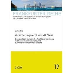 Versicherungsrecht der VR China als Buch von Limin Xie