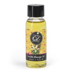 Lovehoney Oh! Essbares Massageöl mit Vanillegeschmack 30 ml