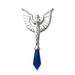 Adelia´s Amulett Anne Stokes Kristallhüter Talisman, Engelskette - Wohlergehen und Schutz