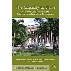 The Capacity to Share - Buch