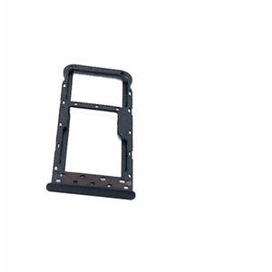 FÜR Huawei P SMART FIG-LX1 FIG-L21 / Enjoy 7S Ersatz Ersatz Ersatz für Slot Kartenhalter SIM Tray Card SIM Tray CARRELLO Nano 1 + Micro SD oder SIM2 Karte (Nero)