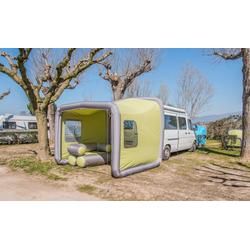 VW Bus Teilzelt GT Box Camping mit Fenster grün