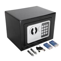 FCH Tresor, Elektronischer Safe Tresor Möbeltresor Geldschrank Digital mit Schlüssel