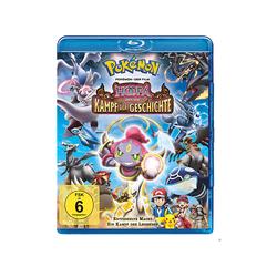 Pokemon der Film - Hoopa und Kampf Geschichte Blu-ray
