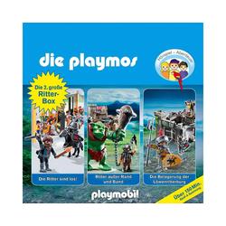 Edel Hörspiel CD Die Playmos Hörspiel-Box Ritter 2