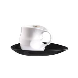 Colani Tasse Luigi Colani Kaffee-/ Cappuccinotasse weiß
