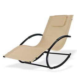 Sonnenliege Relaxliege Gartenliege Liegestuhl Swing Natur