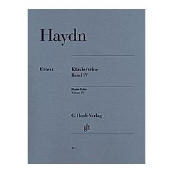 Klaviertrios  Violine  Violoncello u. Klavier. Joseph - Klaviertrios  Band IV Haydn  - Buch
