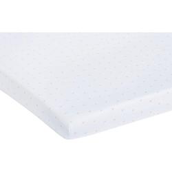 Spannbettlaken Sternchen, Pinolino®, im 2-er Pack weiß 55 cm x 90 cm