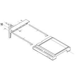 PROXXON 28070-10 Fuß Tischverbreiterung für Feinschnitt-Tischkreissäge FKS/E