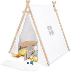 Pinolino Spielzelt Noah, weiß Kinder Spieltunnel Outdoor-Spielzeug Spielzelte