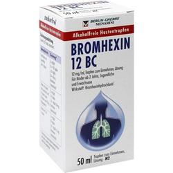 BROMHEXIN 12 BC