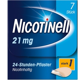 Nicotinell 24-Stunden 21 mg Pflaster 7 St.