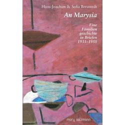 An Marysia als Buch von Hans J Breustedt