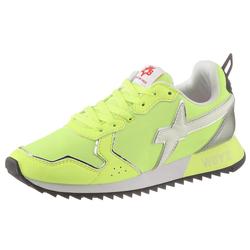 W6YZ Keilsneaker in stylischer Neon-Optik grün 35