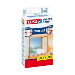 Fliegengitter tesa Insect Stop für Fenster 1x1m weiß