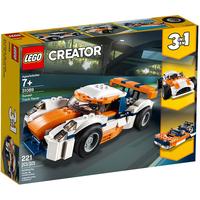 Lego Creator 3in1 Rennwagen 31089