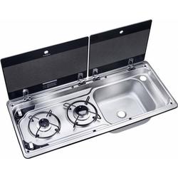 Dometic WAECO Gas-Kochfeld/Spülen-Kombi MO 9722R