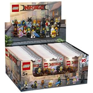 LEGO - 6175016 - Lego Minifiguren - Bau Spiel - Minifigurines Ninjago Serie zufällige Farbe Los von 60