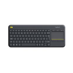 Wireless Touch Keyboard K400 Plus Black (UK English)