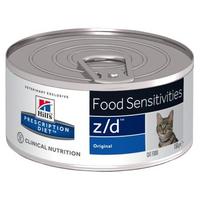 Hill's Prescription Diet Feline z/d Ultra Allergen Free 24 x 156 g