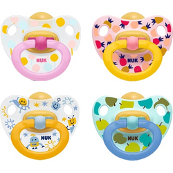 NUK Schnuller Happy Kids Latex 6-18 M