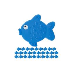 relaxdays Antirutsch-Aufkleber 30 x Antirutsch Sticker Badewanne Fisch, B: 11 cm, L: 3 cm