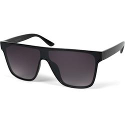 styleBREAKER Sonnenbrille Monoglas Shield Sonnenbrille Getönt schwarz