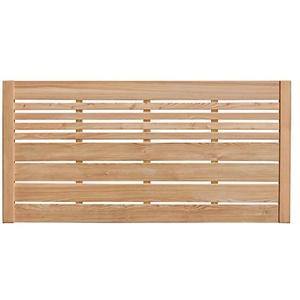 Weidenprofi Sichtschutz aus Lärche, Holz Lamellenzaun, Gartenzaun aus Lärchenholz (BxH) 180 x 90 cm